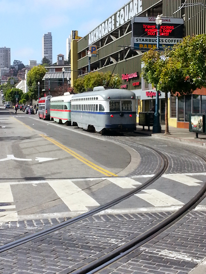 San Francisco vintage trollies