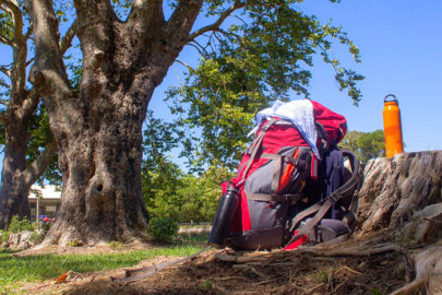 Totaranui Campground backpacking the Abel Tasman
