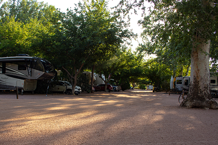 Zane Grey RV Village Campsites