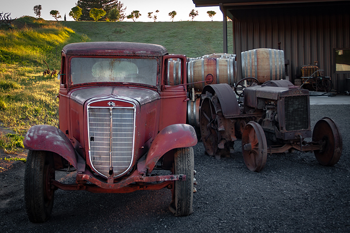 antique International pickup